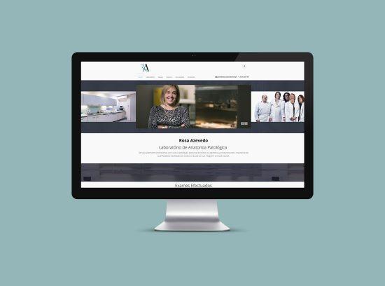 Website Rosa Azevedo Laboratório