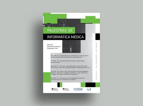 Poster Palestras Informática Médica 2018